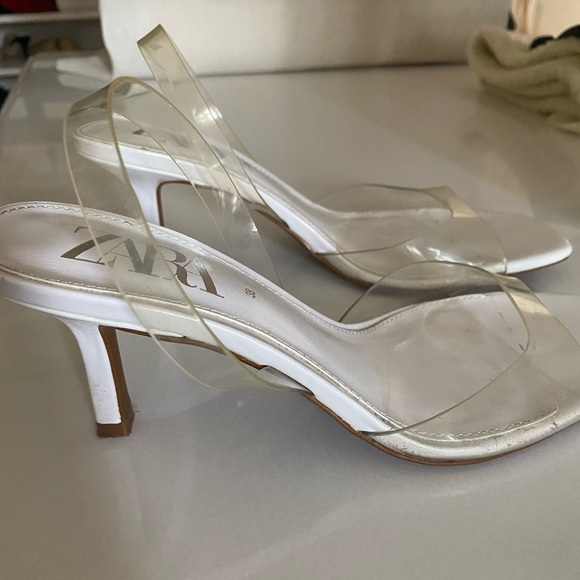 zara PVC sandals